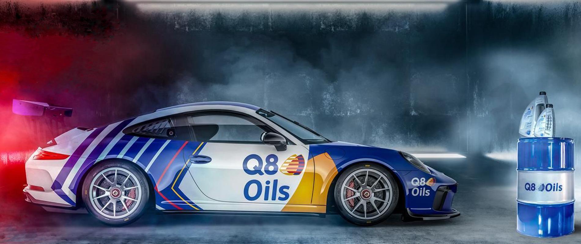 Q8 Oils Slider