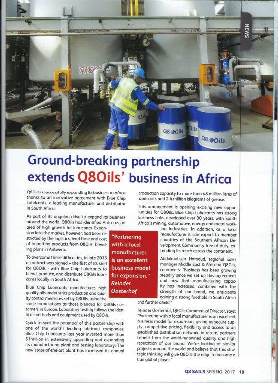 Q8 Magazine Article