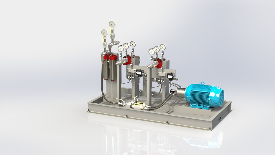 Oils and Lubricants Pump