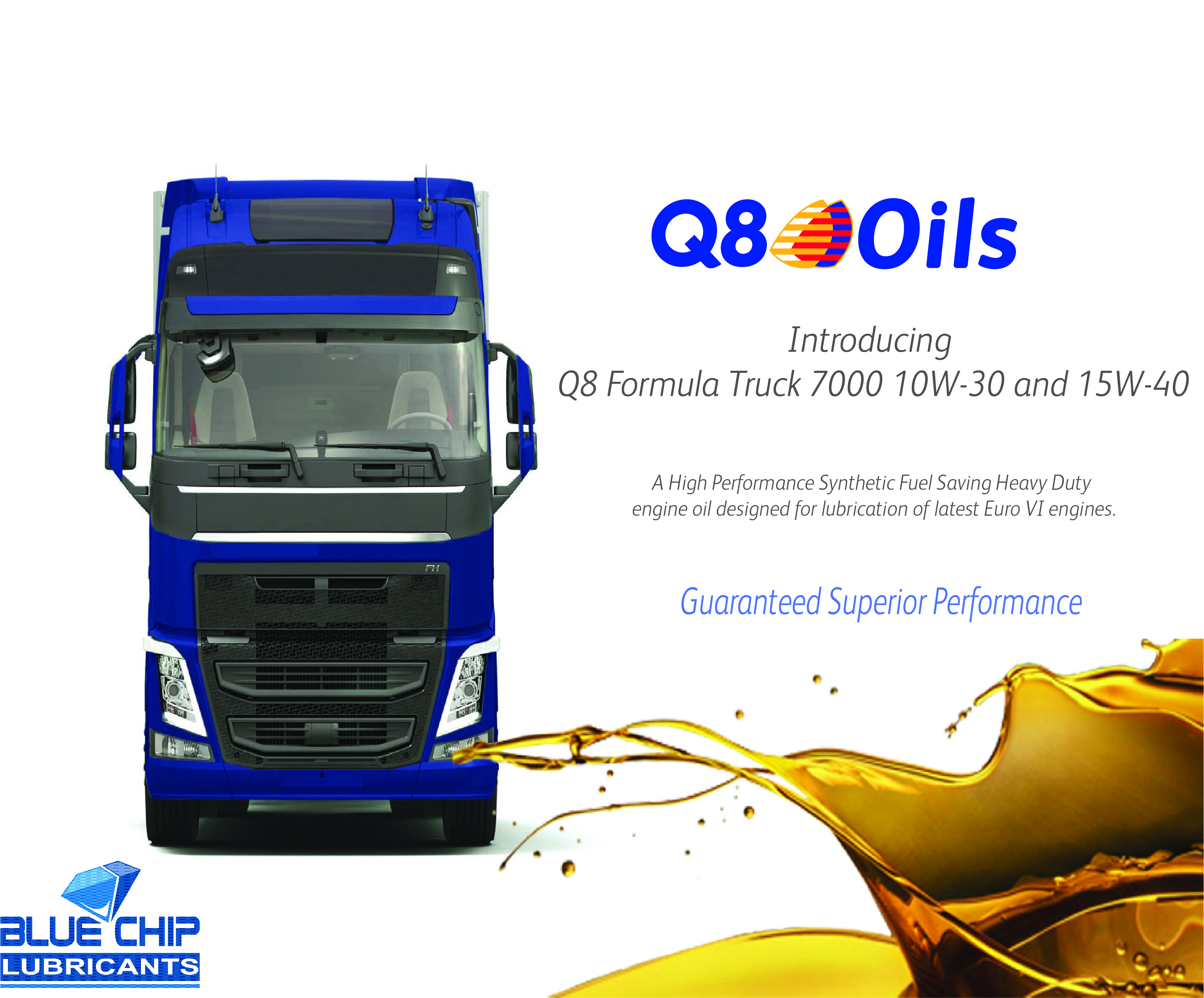 Q8Oils Introduces a New Super High Performance Diesel engine oil
